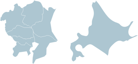 ご対応エリア地図